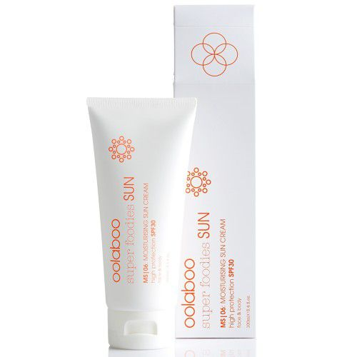 Oolaboo Super Foodies Sun MS 06 Moisturising Sun Cream SPF30 100ml
