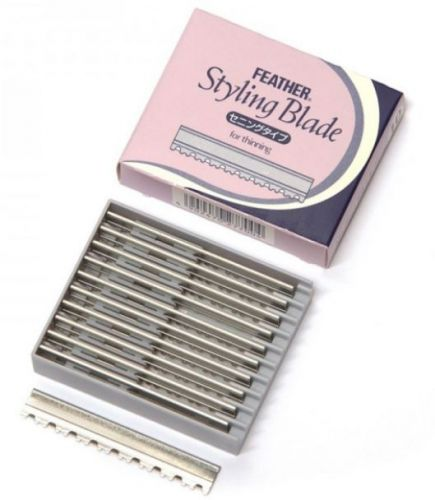 Feather Styling Blades - Thinning Blades 50 Stück