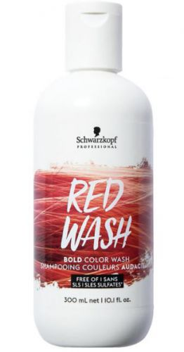 Schwarzkopf Bold Color Wash 300ml Red Wash