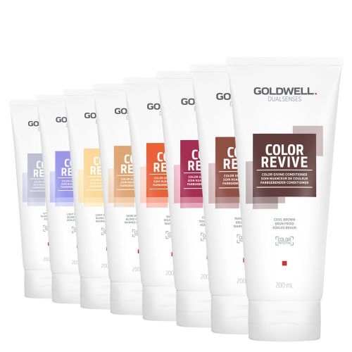 Goldwell DS Color Revive Color Giving Conditioner 200ml Cool Light Blonde