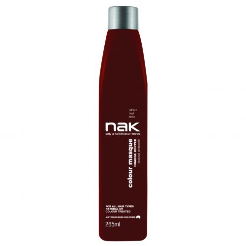 NAK Colour Masque 265ml Orange Copper