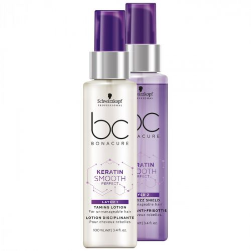 Schwarzkopf BC Bonacure Keratin Smooth Duo Layering 2x100ml