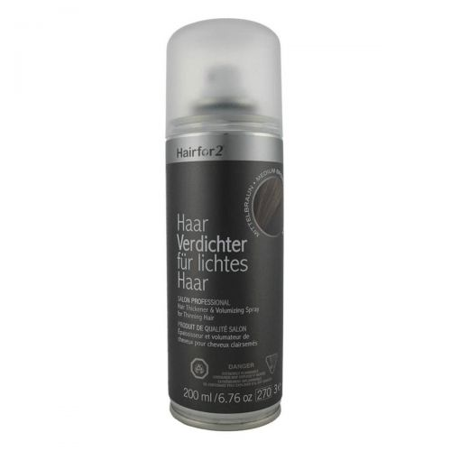 Hairfor2 Hair Thickener 200ml Dark-Brown