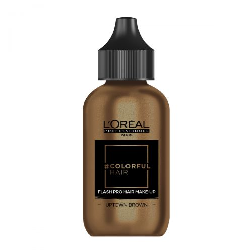 l'Oréal Colorful Hair Flash Pro Hair Make-Up 60ml Uptown Brown
