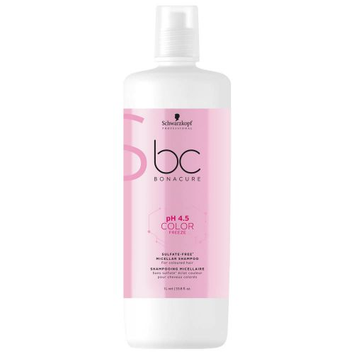 Schwarzkopf BC pH4.5 Color Freeze Sulfate Free Shampoo 1000ml